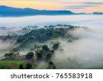 land of mist from khao ta khian ... | Shutterstock . vector #765583918