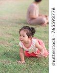 developmental milestones ... | Shutterstock . vector #765593776
