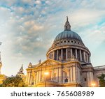 london landmark   uk. | Shutterstock . vector #765608989