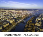 aerial drone panoramic... | Shutterstock . vector #765623353