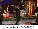 Small photo of New York, NY - November 29, 2017: Singer Pat Monahan and pop group Train perform perform during the 85th Rockefeller Center Christmas Tree Lighting at Rockefeller Center hosted by NBC