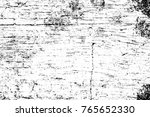 grunge black and white pattern. ... | Shutterstock . vector #765652330