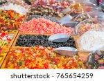 selective focus  assorted soft... | Shutterstock . vector #765654259