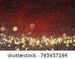 blurred bokeh light background  ... | Shutterstock . vector #765657184