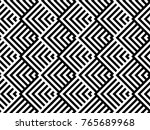 seamless pattern with striped... | Shutterstock .eps vector #765689968