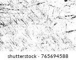 grunge black and white pattern. ... | Shutterstock . vector #765694588