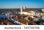 landscape over the village of... | Shutterstock . vector #765730708