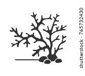 aquarium plant glyph icon.... | Shutterstock .eps vector #765732430