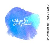 watercolor vector background... | Shutterstock .eps vector #765741250