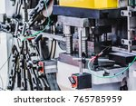 automatic lathes the design can ... | Shutterstock . vector #765785959