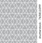 vector seamless pattern. modern ... | Shutterstock .eps vector #765811099