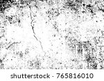 grunge black and white pattern. ... | Shutterstock . vector #765816010