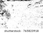 grunge black and white pattern. ... | Shutterstock . vector #765823918