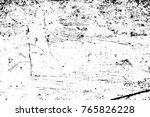 grunge black and white pattern. ... | Shutterstock . vector #765826228