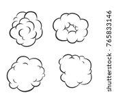 vape illustrations on white... | Shutterstock . vector #765833146