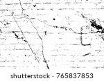 grunge black and white pattern. ...   Shutterstock . vector #765837853