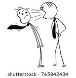 cartoon stick man drawing... | Shutterstock .eps vector #765842434