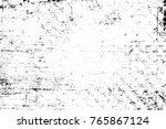 grunge black and white pattern. ... | Shutterstock . vector #765867124