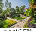 Garden Villas Landscape Greening Residential - Fine Art prints
