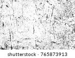 grunge black and white pattern. ... | Shutterstock . vector #765873913