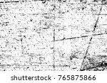 grunge black and white pattern. ... | Shutterstock . vector #765875866