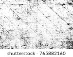 grunge black and white pattern. ... | Shutterstock . vector #765882160