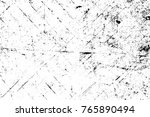 grunge black and white pattern. ... | Shutterstock . vector #765890494