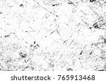 grunge black and white pattern. ... | Shutterstock . vector #765913468