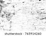 grunge black and white pattern. ... | Shutterstock . vector #765914260