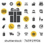 gift icon on white background....