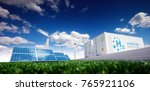 ecology energy solution. power... | Shutterstock . vector #765921106