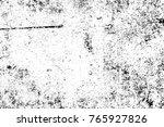 grunge black and white pattern. ... | Shutterstock . vector #765927826