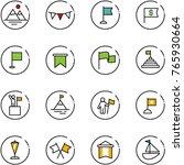 line vector icon set  ... | Shutterstock .eps vector #765930664