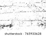 grunge black and white pattern. ... | Shutterstock . vector #765933628