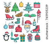 Cute Christmas Icons Collection ...