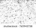 grunge black and white pattern. ... | Shutterstock . vector #765943738