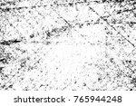 grunge black and white pattern. ... | Shutterstock . vector #765944248