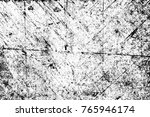 grunge black and white pattern. ... | Shutterstock . vector #765946174