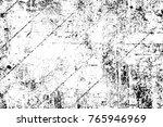 grunge black and white pattern. ... | Shutterstock . vector #765946969