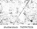 grunge black and white pattern. ... | Shutterstock . vector #765947026