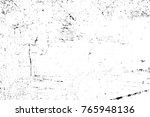 grunge black and white pattern. ... | Shutterstock . vector #765948136
