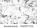 grunge black and white pattern. ... | Shutterstock . vector #765957724