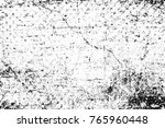 grunge black and white pattern. ... | Shutterstock . vector #765960448