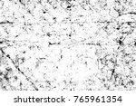 grunge black and white pattern. ... | Shutterstock . vector #765961354