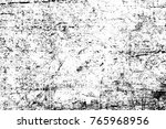 grunge black and white pattern. ... | Shutterstock . vector #765968956