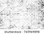 grunge black and white pattern. ... | Shutterstock . vector #765969898