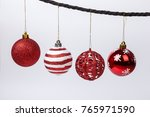 christmas decoration ball. | Shutterstock . vector #765971590