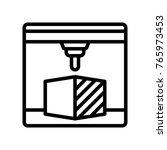 3d printing   printer | Shutterstock .eps vector #765973453