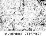 grunge black and white pattern. ... | Shutterstock . vector #765974674