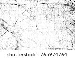 grunge black and white pattern. ... | Shutterstock . vector #765974764